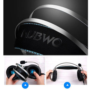 Headset Gamer for Mobile Phone PS4 Xbox PC Earphone with Mic Earpiece