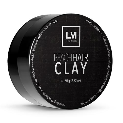 Beach Hair Clay - Perfektes Haarstyling Gel für den ultimativen Surfer-Look