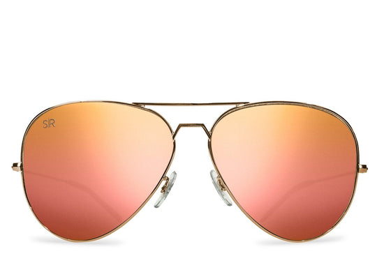 Aviator - Rose Gold Polarized