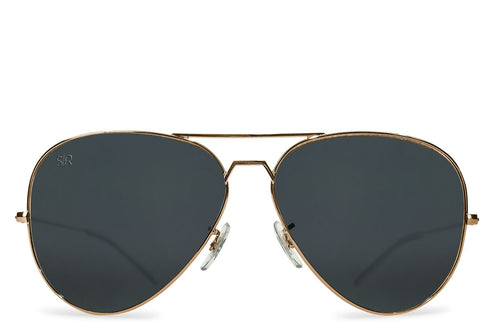 Aviator Elite  - Black Gold Polarized