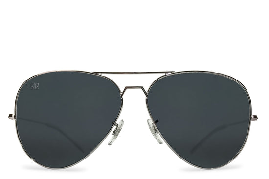 Aviator - Blackout Polarized + Hardcase