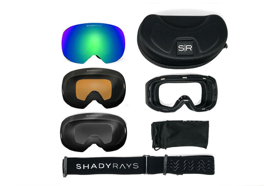 Bluebird Polarized Pack : Snow Goggle Bundle