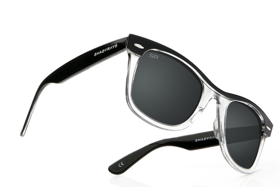 Classic Clear Streaks - Jet Black Polarized