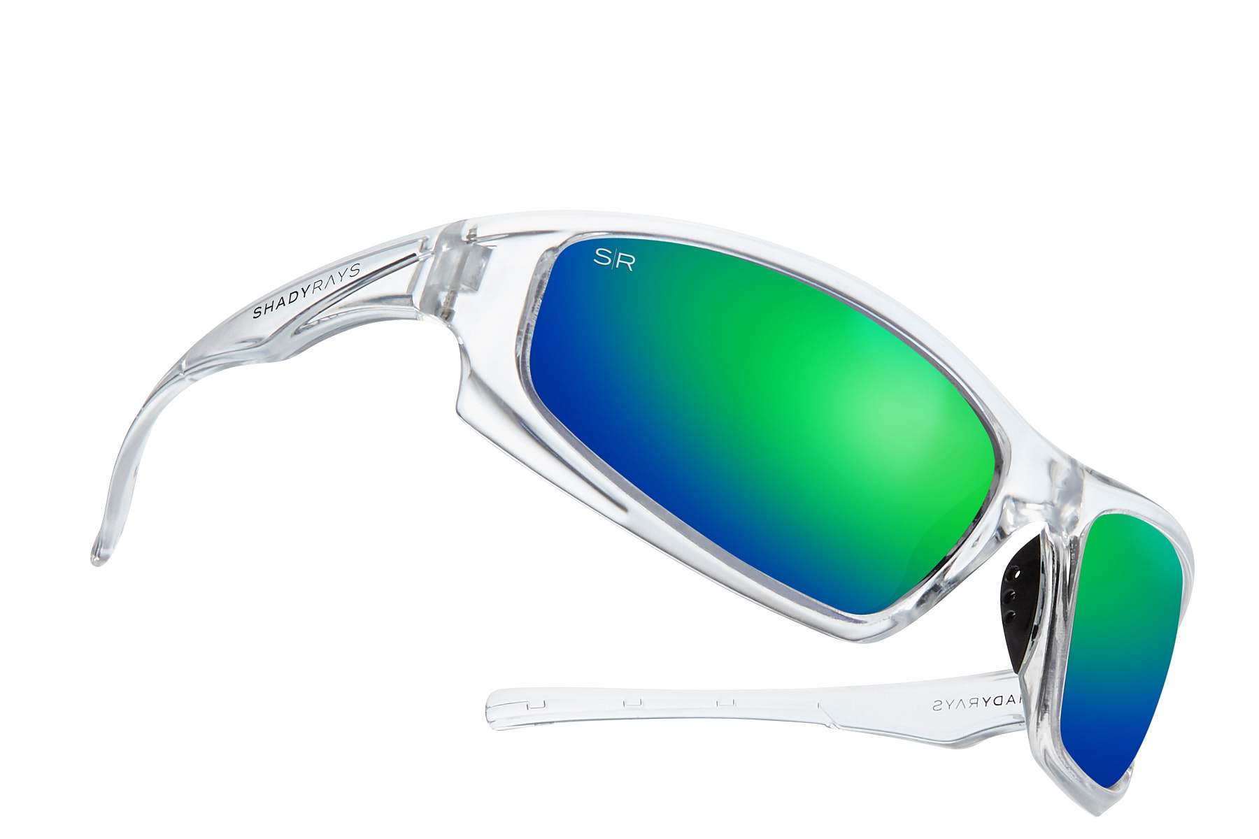 fdec22da2fa12 Shady Rays X Series EXTREME - Emerald Ice Polarized Sunglasses ...