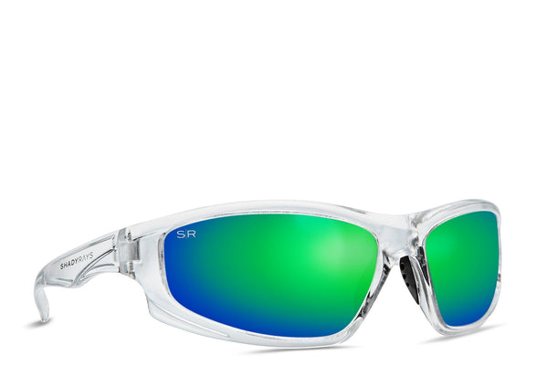 Shady Rays X Series Extreme Emerald Ice Polarized