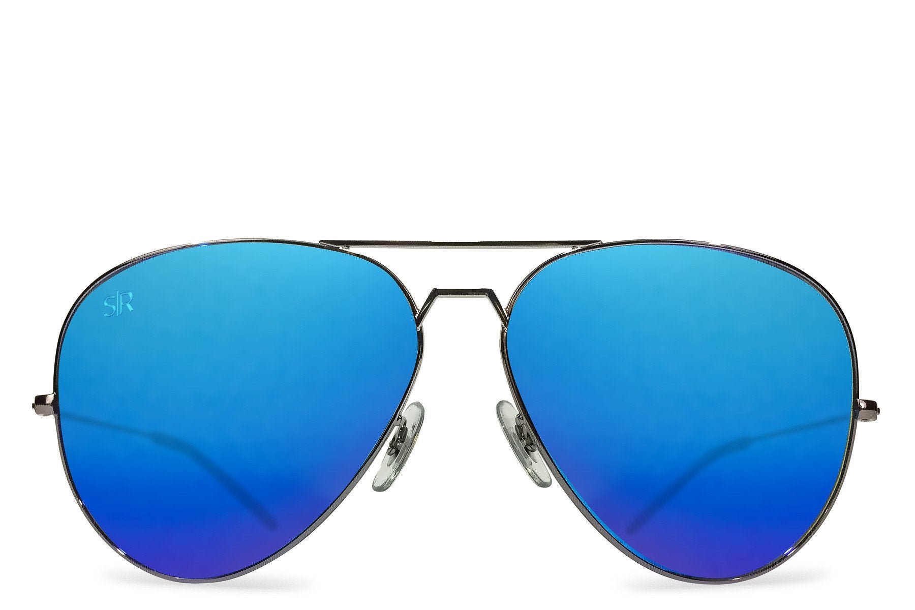 Shady Rays, Aviator Elite - Sky Polarized Sunglasses