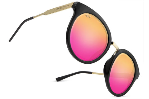 Aviator - Purple Gold Polarized
