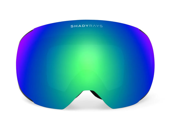 Shady Rays Snow Goggles, Alpine Emerald Polarized