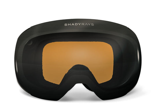 Shady Rays Snow Goggles, Brown Earth Polarized