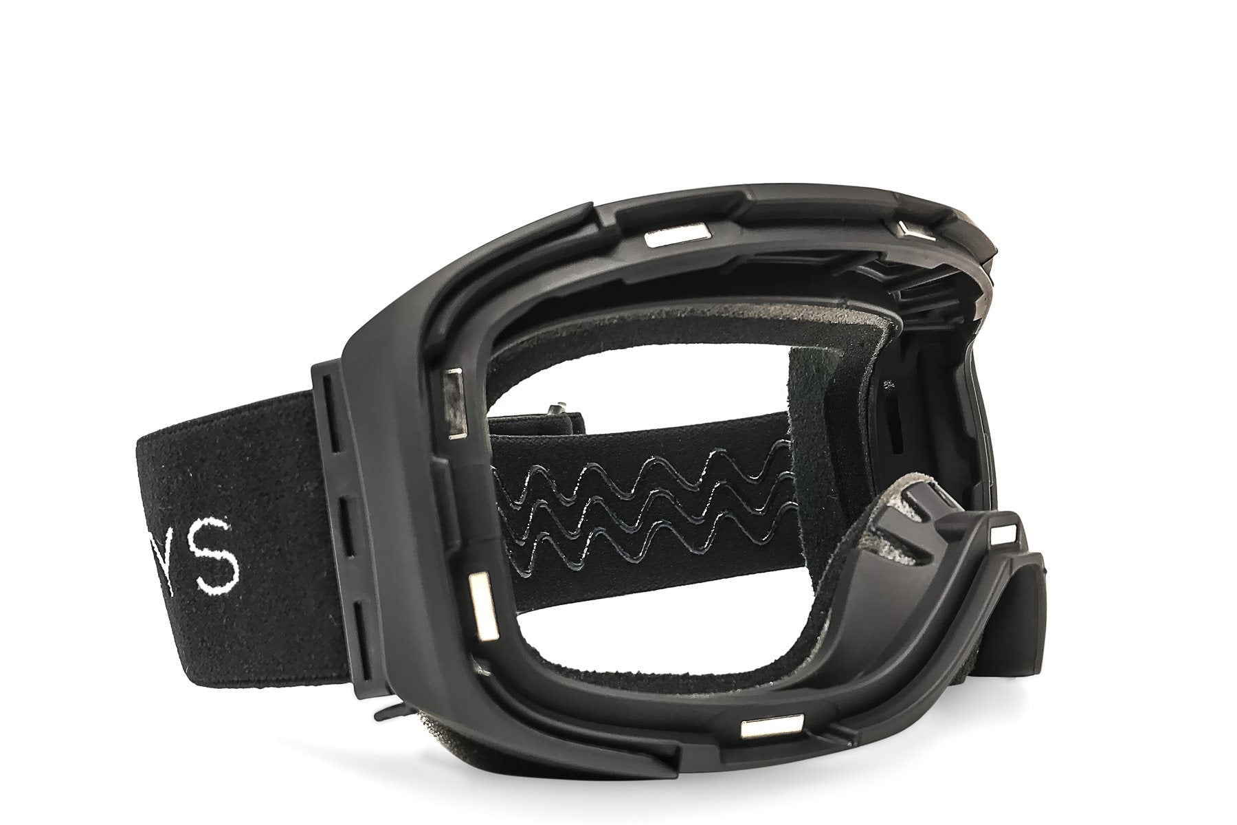 Snow Goggles: Magnetic Mask System + Blackout Non-Polarized Lens