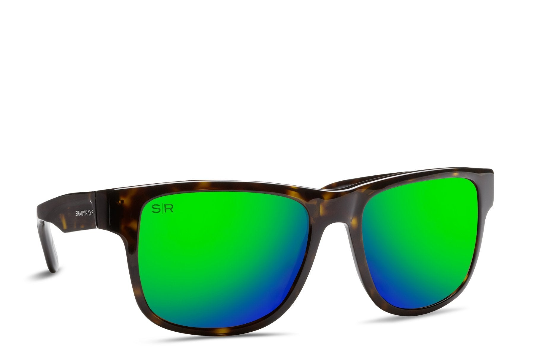 Shady Rays, Ventura LIMITED - Emerald Tortoise Polarized