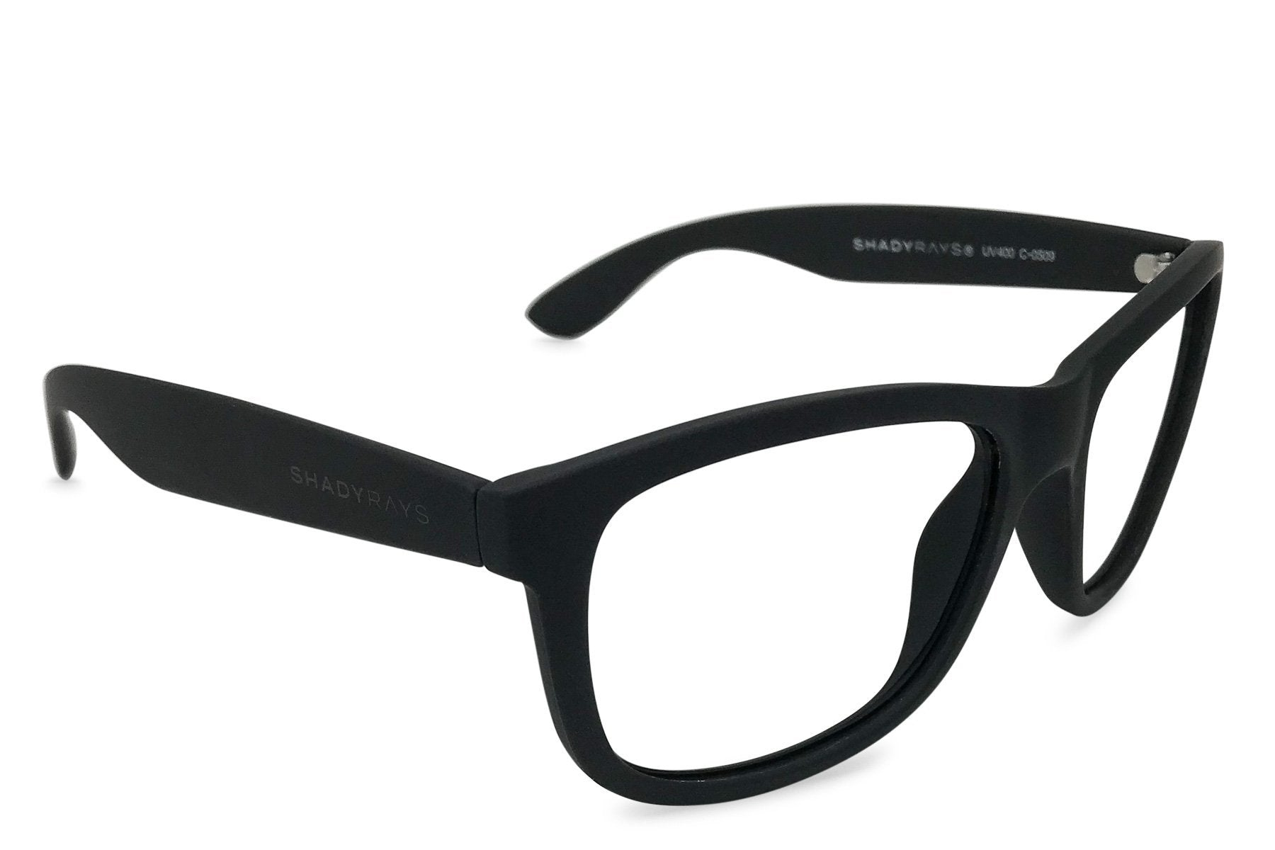 Shady Rays, Signature Series Rx - INCOGNITO Black Frame