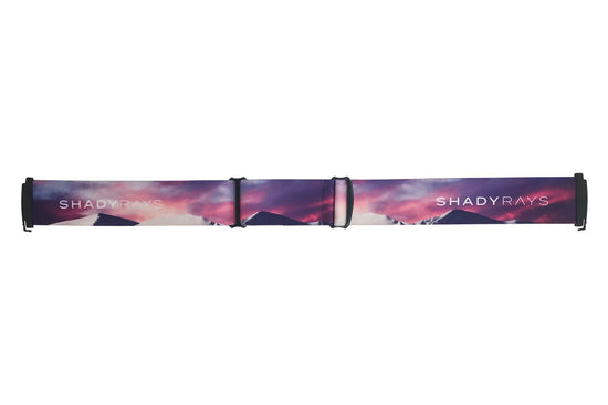 Snow Goggle Strap - Cotton Candy Peak