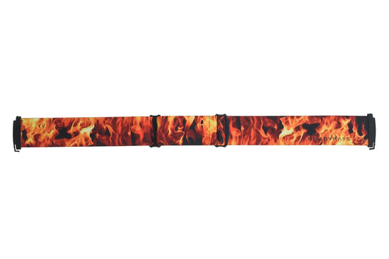 Snow Goggle Strap - Fire on Ice