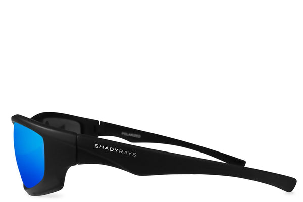 Shady Rays X Series Black Glacier Polarized Sunglasses