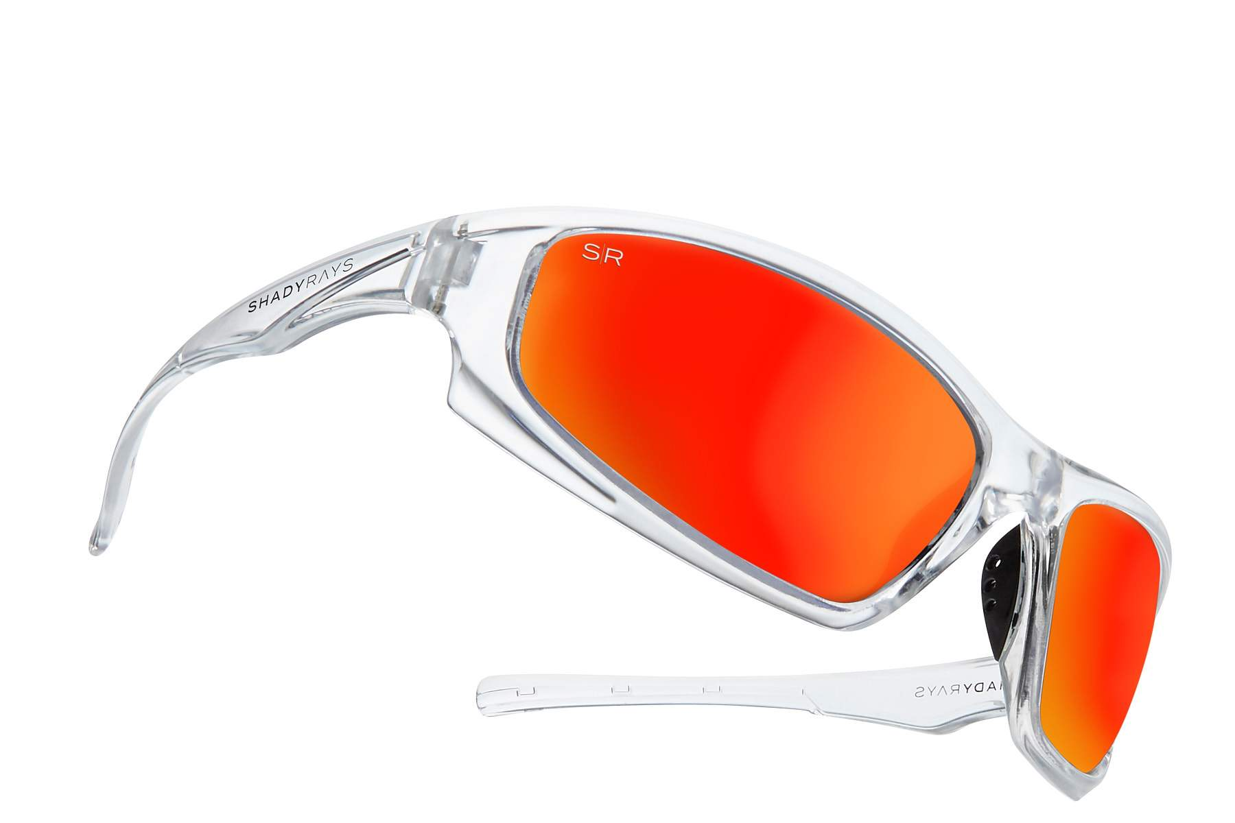 Shady Rays X Series - Infrared Ice Polarized Sunglasses – Shady Rays ...