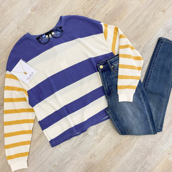 ZS Grace Stripe Long Sleeve