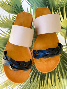 Moondance Braid Front Sandal