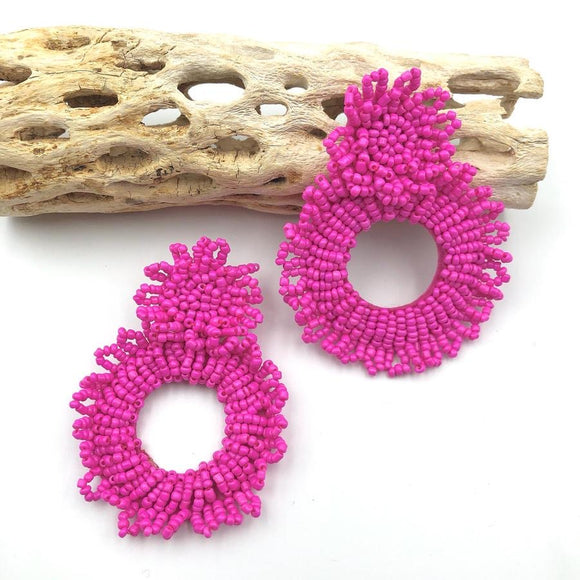 TJ Stella Earring Red