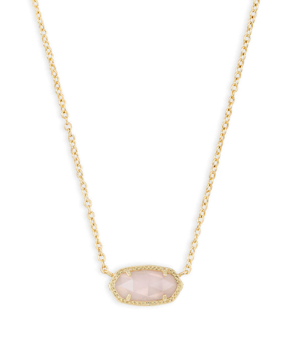 KS Elisa Necklace Rose Quartz