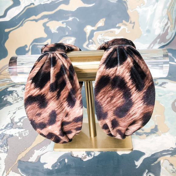 Leopard Large Headband