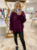 Easy Street Tunic Violet Panther