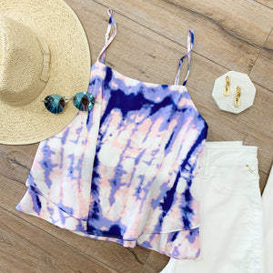 Tie Dye Layered Cami