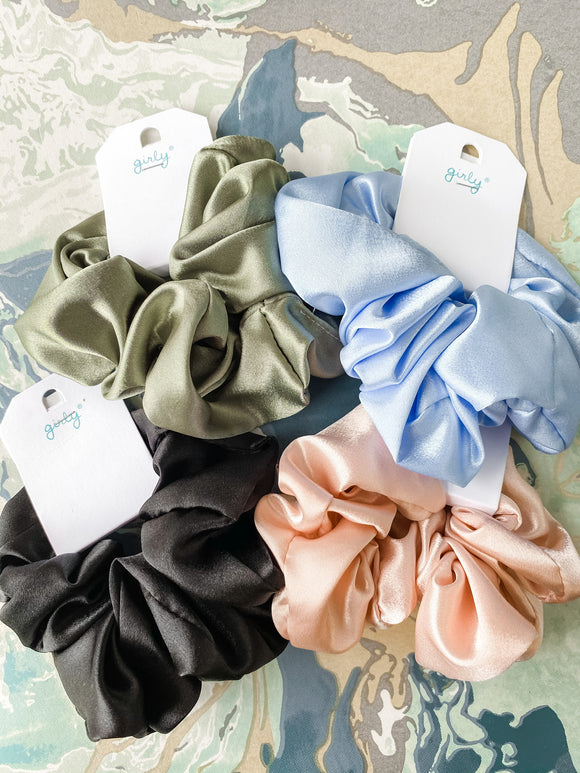 Satin Scrunchie Large