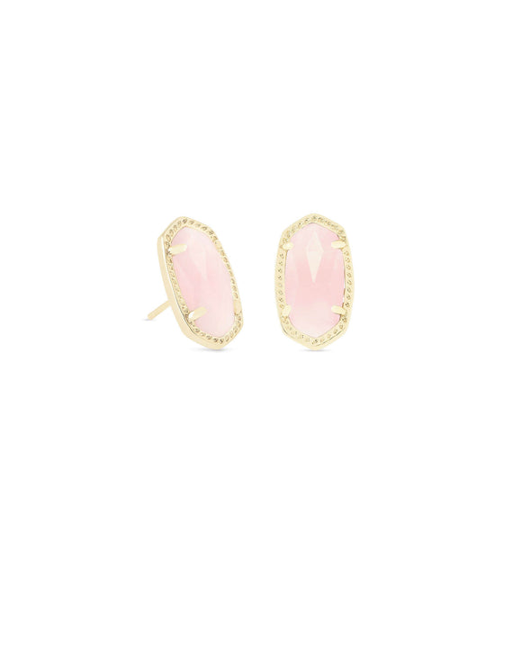 KS Ellie Stud Rose Quartz