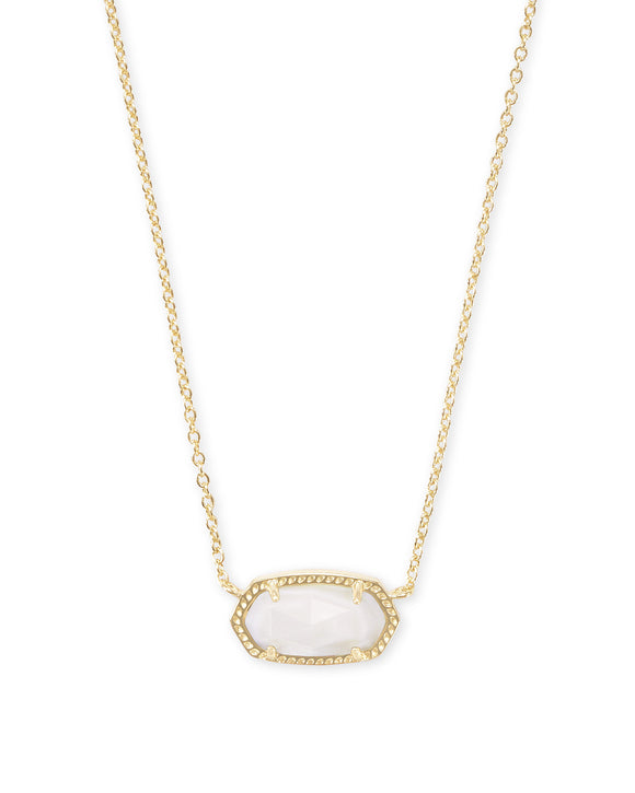 KS Elisa Necklace White Mother of Pearl