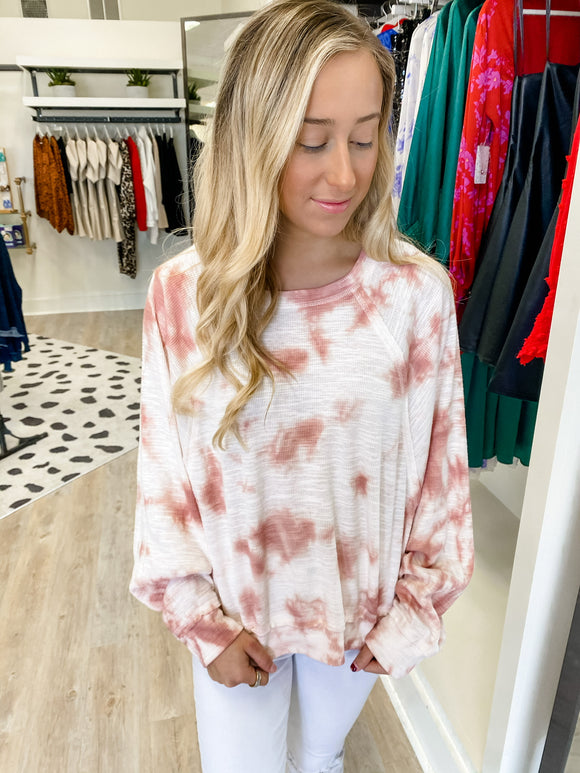 ZS Claire Cloud Tie Dye Top