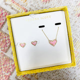 KS Opal Heart Gift Set