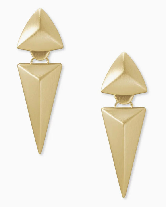 KS Vivian Statement Earring Metal