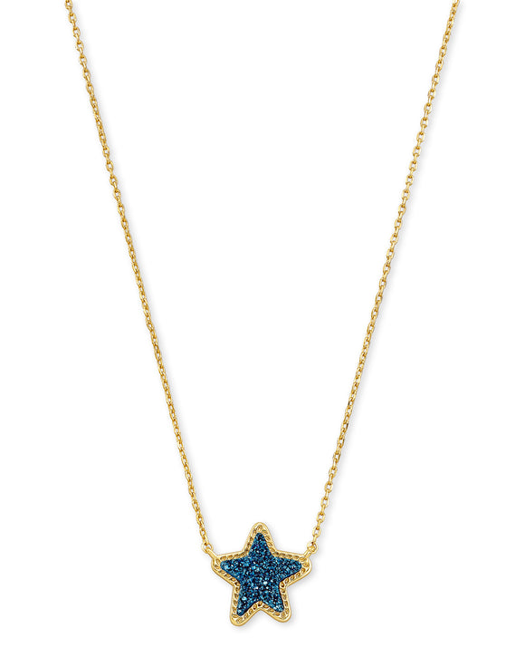 KS Jae Star Necklace Drusy
