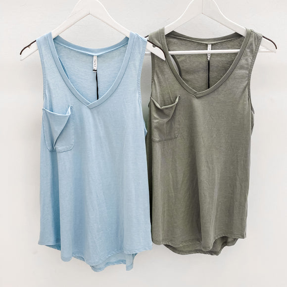 ZS The Pocket Racer Tank Olive