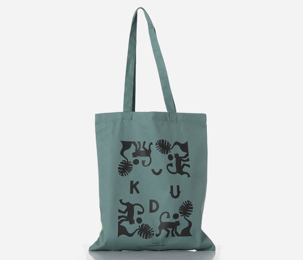 KUDU Coffee: Light Blue Tote Bag