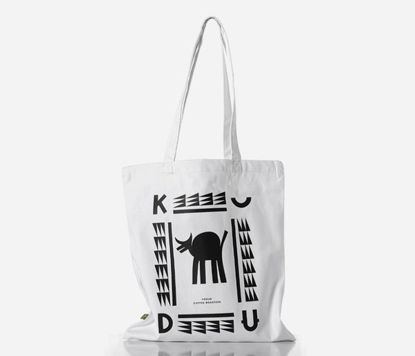 KUDU Coffee: White Tote Bag