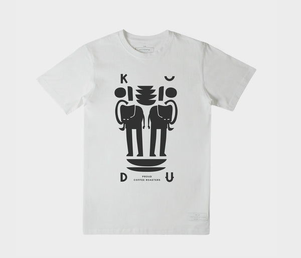 KUDU Coffee: White Elephant T-shirt