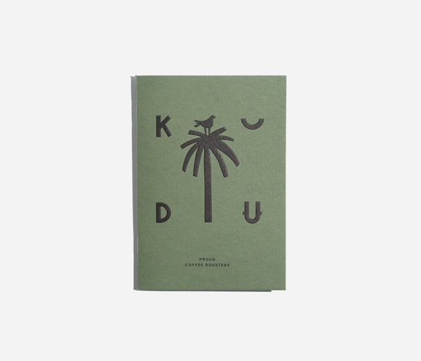 KUDU Coffee: Kudu notebook Small