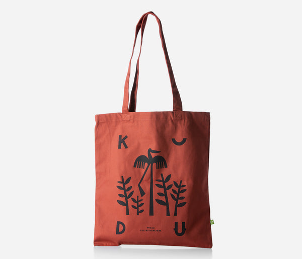KUDU Coffee: Orange Rust Tote Bag