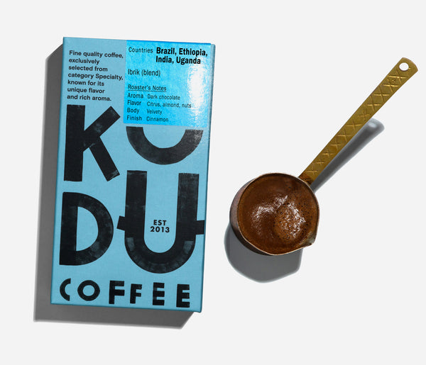 KUDU Coffee: Greek Coffee Powder (250g)