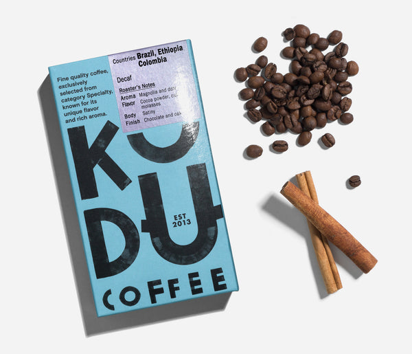 KUDU Coffee: Decaf 100% Arabica Coffee (250g)