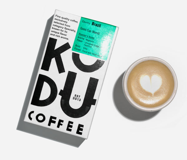 KUDU Coffee: Good Cup Specialty Coffee blend (250g)
