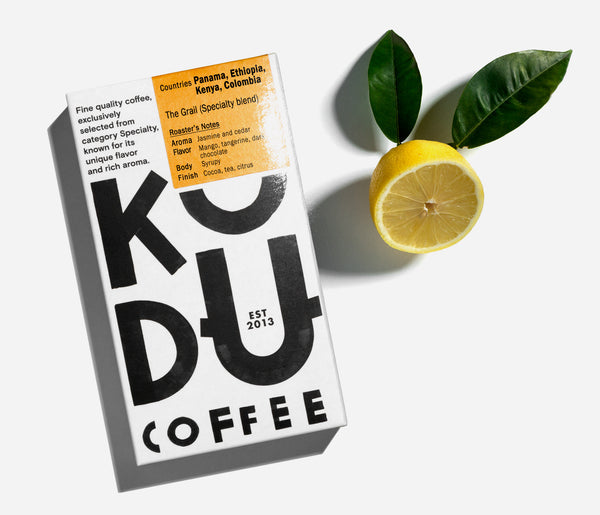 KUDU Coffee: The Grail Specialty Coffee blend (250g)