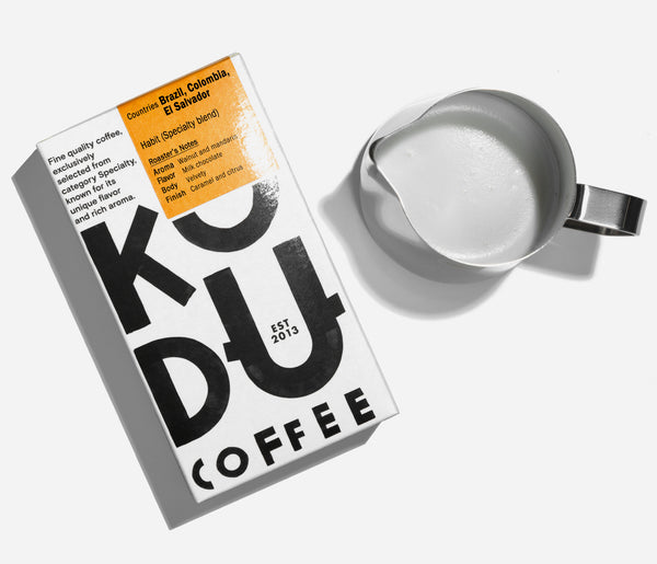KUDU Coffee: Habit Specialty Coffee blend (250g)