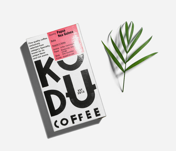 KUDU Coffee: Papua New Guinea Boka (250g)