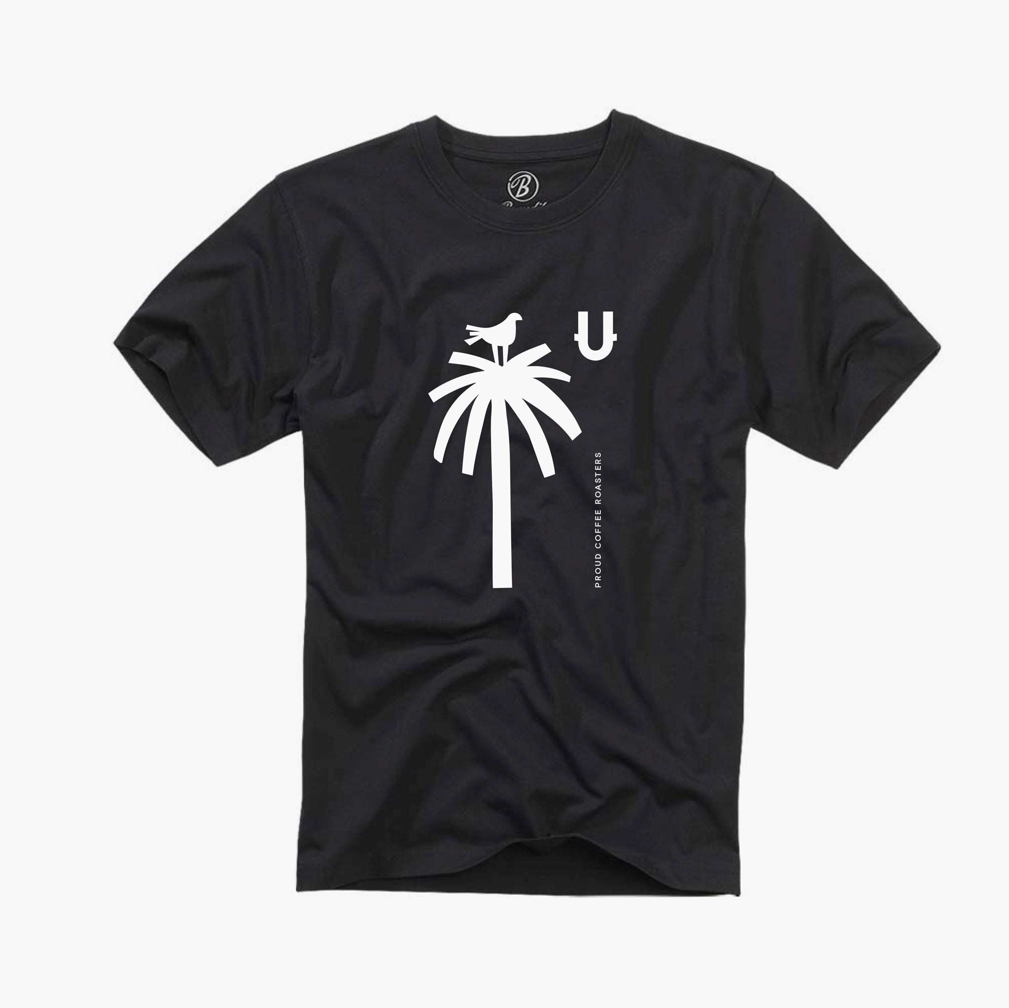 Black Palm Tree T-shirt