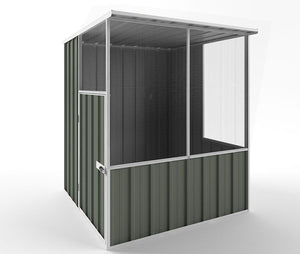 1.5 x 1.5 x 1.82 Pet Aviary House Zinc/Colour Supplied, Delivery and Installation