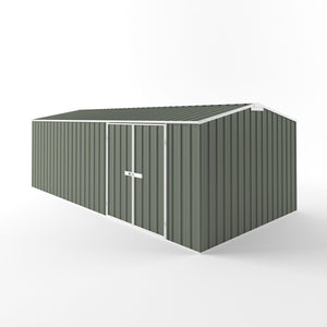6.0 x 3.0 x 1.8-2.1 Workshop Shed Zinc/Colour  with EXTRA tall option supplied, delivery and installation