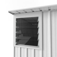 Load image into Gallery viewer, 1.5 x 3.0 x 1.8-2.1 Skillion Roof Zinc/Colour Hinged door Supplied, Delivery and installation